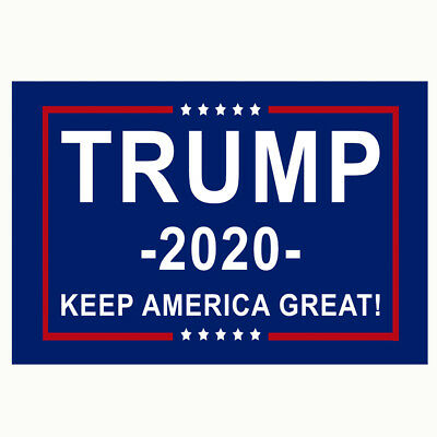 Donald Trump 2020 Flag FREE SHIPPING 3x5 BLUE Keep America Great Flags Banner IL