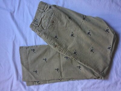 Rugby Ralph Lauren Kicker Courdoroy Embroidered Pants