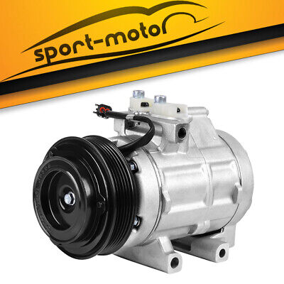 AC A/C Compressor and Clutch Fits For Galant Lancer Mirage 10347120,10348120