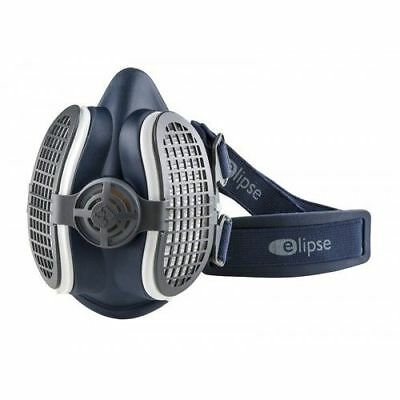 Elipse Twin Half Dust Mask P3 Fume Woodworking Respirator Replaceable Filters