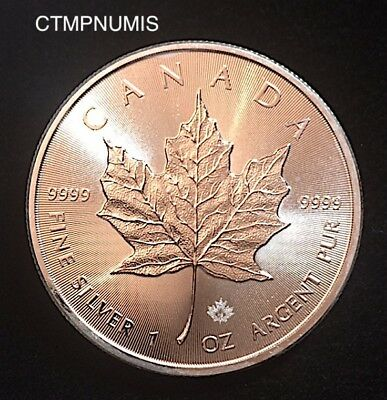 Canada   1 Once  Argent   999°/°°    5 Dollars   2015