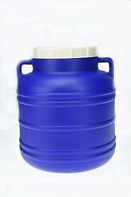 Plastic barrel 25L Water Storage Container Drum Keg Food Grade Tank Screw Open