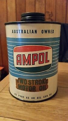Ampol 1Imperial Quart oil tin...Very Nice