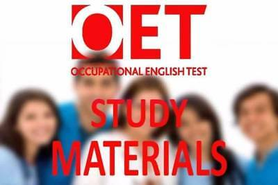 OET Latest Practice Material For NURSE EN & RN