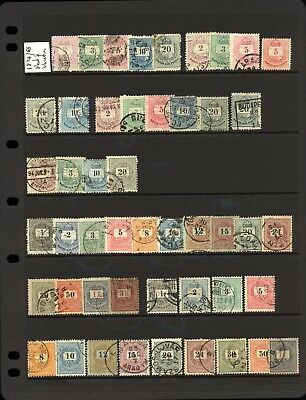 Hungary Collection 1874 to c1940 (8 Pages 290 stamps)