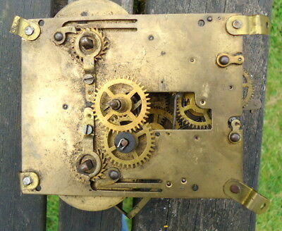 "Antique ""JUNGHANS"" German Mantel Clock Movement. Restoration or Spares, c1888"