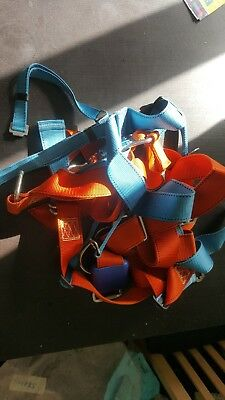 mittelmann full body harness and lanyard - fall arrest