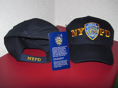 -1- Original NEW YORK POLICE DEPARTMENT NYPD Polizei  COP Mütze SHIELD Base cap