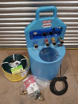 Sentinel Jetflush 4 power flushing machine