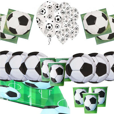 Football Party Pack Kids Birthday Party Decoration 3D Soccer Party Latex Balloon