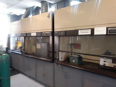 Protector Laboratory Fume Hood (used) 5 fume hoods in total available