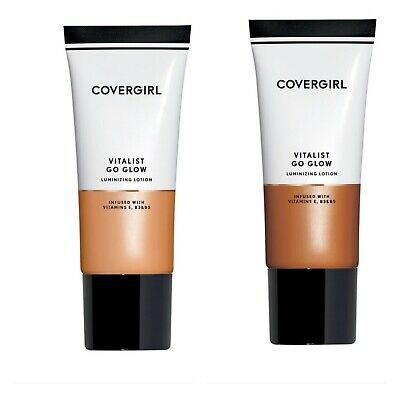 Covergirl Vitalist Go Glow Luminizing Lotion, You Choose