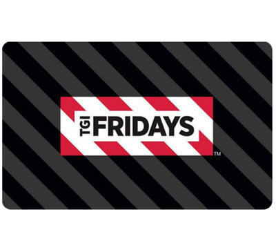 Buy a $50 TGI Friday's Gift Card for only $40 - Fast email delivery