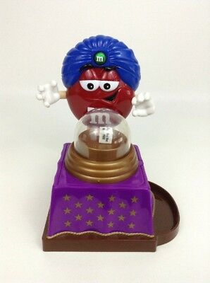 Mars 2008 M&M's Fun Fortunes The Great Red-ini Fortune Teller Candy Dispenser