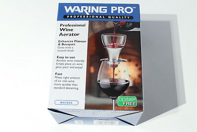 Waring Pro - Professional Wine Aerator (WA100C) Decanter - Professional Quality