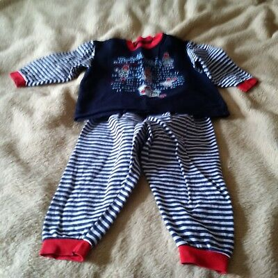 Vintage St Michael (Marks and Spencer) Paddington bear Pyjamas age 2 years