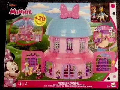 Minnie Mouse Kids Minnie Happy Helpers House - Playset NEW in box