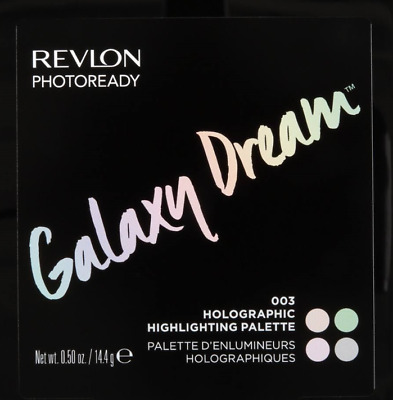 Revlon Photoready Galaxy Dream 003 Holographic Highlighting Palette New Unopened