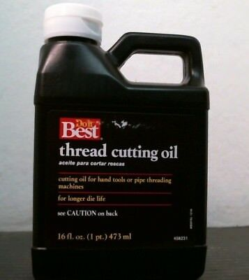 DoitBest 408231 Thread Cutting Oil, 16 fl. oz Bottle, FREE SHIPPING