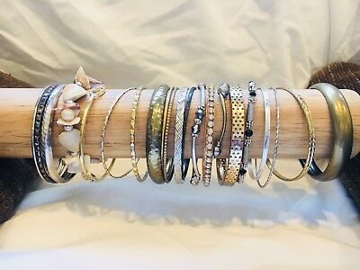Lot of 21 Estate Jewelry and/or Vintage Bracelets