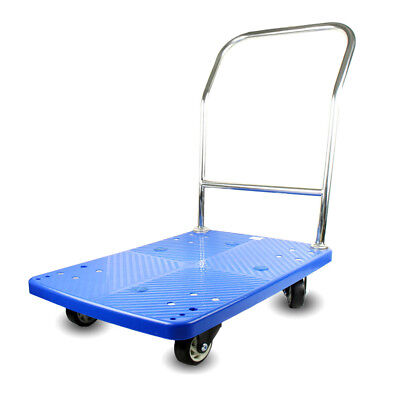 "Fixed Platform Trolley with Plastic Platform, 35.83"" x 23.62"" x 36.22"" H Size"