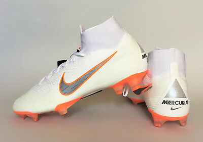 b3d38b999 Nike Mercurial Superfly 6 Elite FG AH7365-107 White 360 Soccer Cleats Just  Do It
