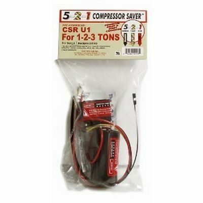 5-2-1 CSRU1 Compressor Saver CSR U1 Hard Start  for 1 to 3 Ton Systems