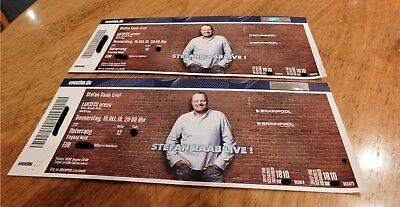 2 Tickets Comeback Stefan Raab Live 18.10.18 LANXESS Arena