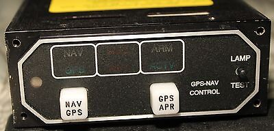 GPS Mid-Continent annunciation unit MD41-528 for King KLN 89B / 94 recent 8130-3