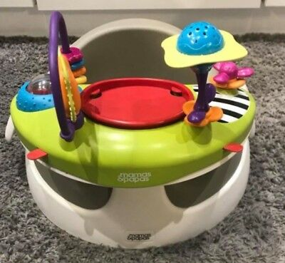Mamas And Papas Snug Baby Seat With Detachable Play Tray