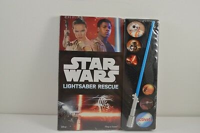 Star Wars Lightsaber Rescue Book with Sound Ages 3&up Brand New Never Opened