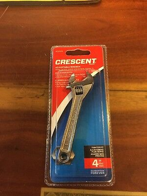 "Crescent Adjustable Wrench 4"" AC24VS"