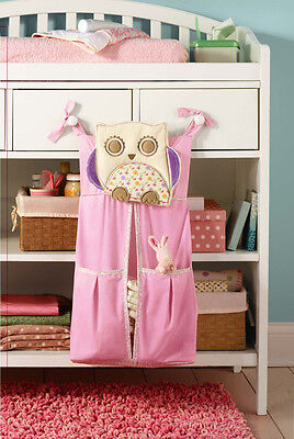 Hanging Nappy Depot Diaper Bag Nappy Stacker Nursery Decor Bag Cot Storage Bag