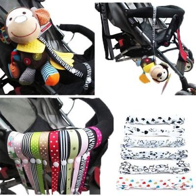 60cm Hangers Baby Cup Holder Anti-lost Band Stroller Toy Strap Bind Belt