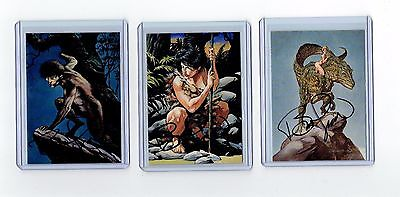 Bernie Wrightson Signed Horror Cards (J)