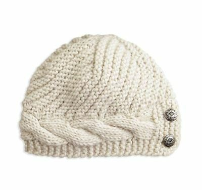 Harley-Davidson Harley-Davidson Women's Button Accent Cable Knit Hat