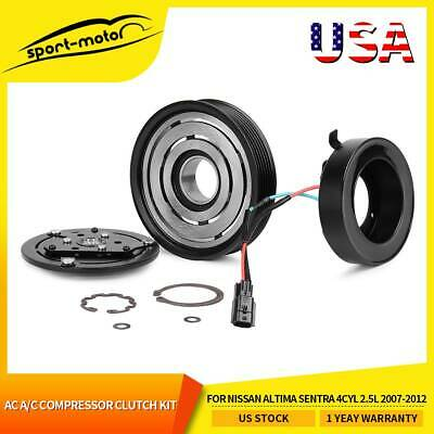 NEW AC A/C Compressor Clutch Kits For Nissan Altima Sentra 4CYL 2.5L 2007-2012