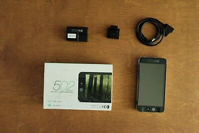 502 Full HD On-Camera Monitor Bundle - great condition