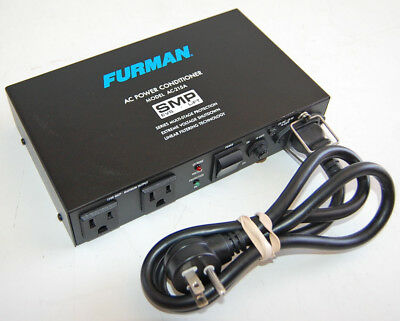Furman AC-215 2-Outlet Socket Power Conditioner Surge Protector Noise Filter
