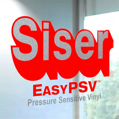 "Siser EasyPSV Self-Adhesive Permanent Craft Vinyl 24"" By The Yard Roll(s)"
