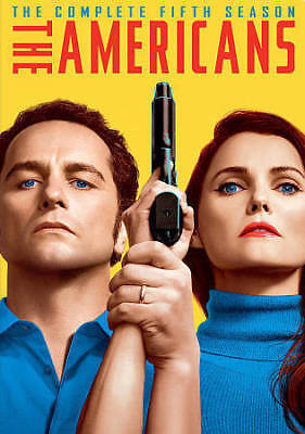 The Americans: The Complete Fifth Season (DVD, 2018, 4-Disc Set) SEALED free shp