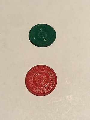 Vintage Old Antique Missouri Retail State Sales Tax Token Coin MO 1 Mill And 5 M
