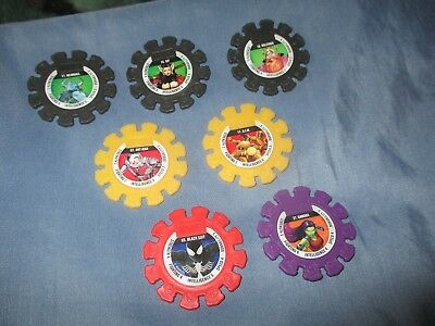 Woolworths MARVEL discs x 7 mixed.