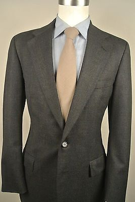 Ralph Lauren Polo University Club Dark Blue 100% Wool 2 Pc Lounge Suit Size: 40R