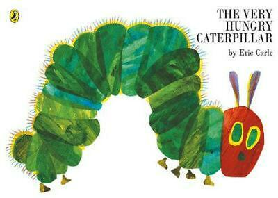 The Very Hungry Caterpillar by Eric Carle Paperback Book Free Shipping!