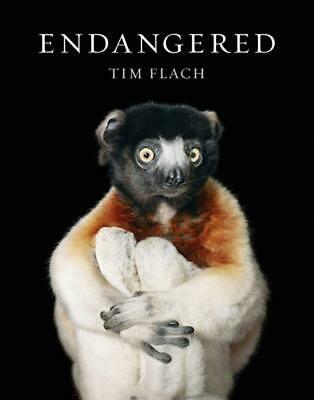 Endangered by Tim Flach Hardcover Book Free Shipping!