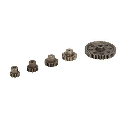 Steel Spur Diff Differential Main Gear 64T Motor Pinion Gears for HSP Redcat