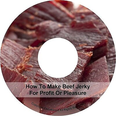 Make Money - How To Make Beef Jerky Home Business - Beef Jerky Recipes Book CD