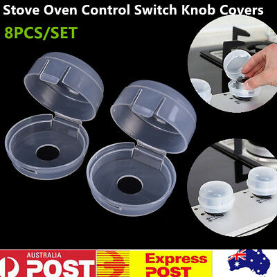 8 x Kitchen Stove Oven Control Switch Knob Covers Protect Baby Kid Safety Stove
