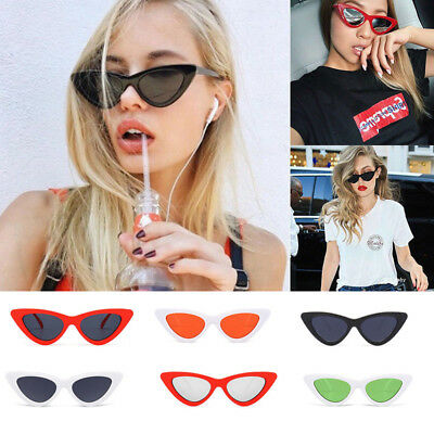 New Unisex Womens Mens Retro Vintage Cat Eye Round Glasses Fashion Sunglasses AU